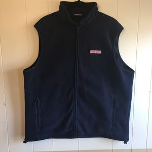 Men's Vineyard Vines Fleece Harbor Vest